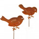 Sorted metal bird mini Rank bar, 2 motives